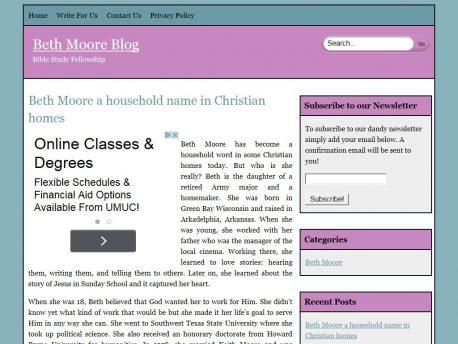 bethmooreblog.com