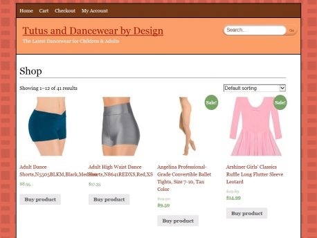 tutusanddancewearbydesign.com